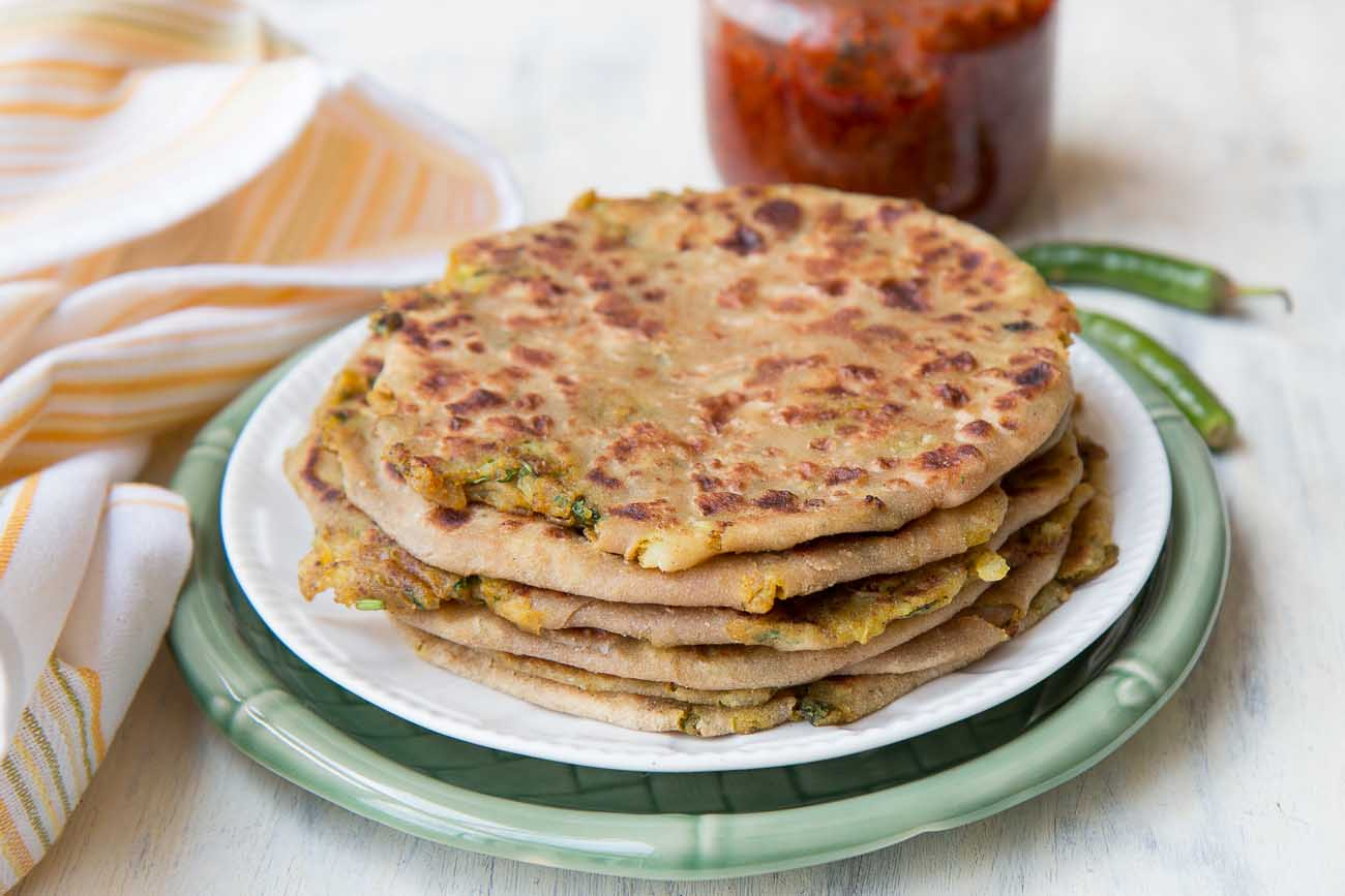 Stuffed Aloo Paratha Recipe