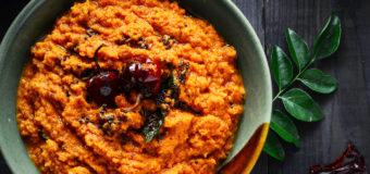 Dry Coconut Chutney | Thenga Chammanthi Recipes | NatureLoC