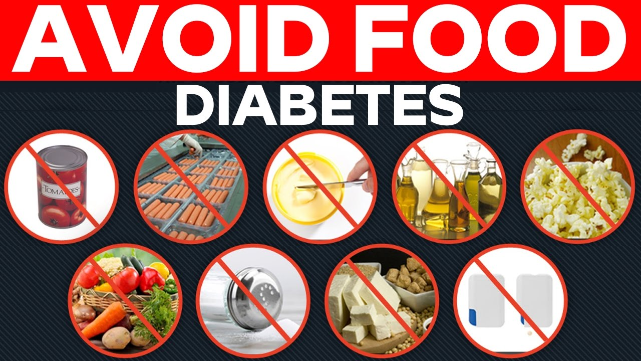 how to avoid food for diabetes