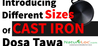 Tawa – Cast Iron Dosa Tawa  Different Sizes Of Thava 10  Inches to 14 Inch
