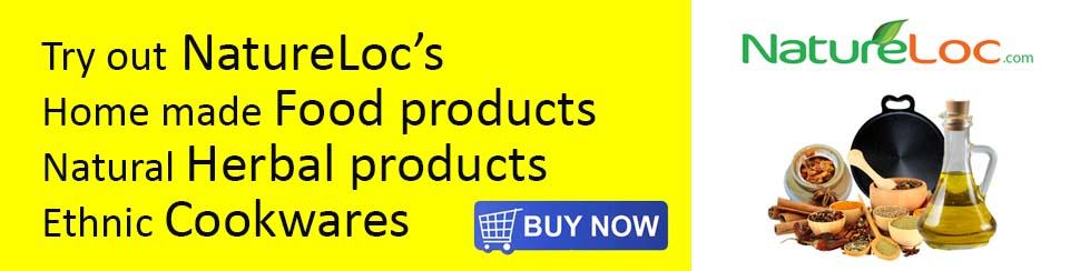 natureloc foods, herbals and kitchenwares