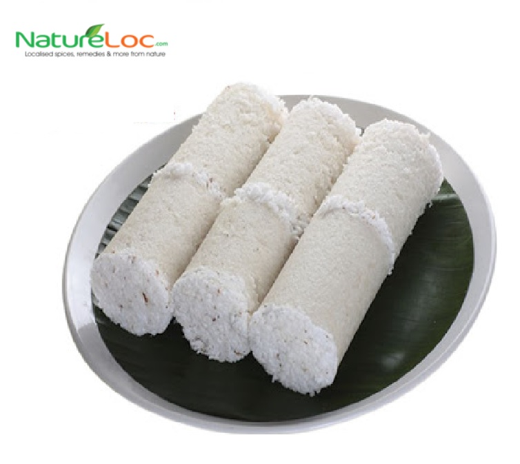 Buy Online Purely Homeamde steam made soft Puttu Podi from NatureLoC